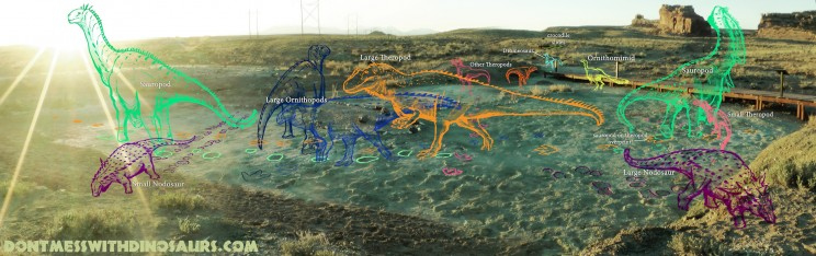 Mill Canyon Dinosaur Trackway Field Guide