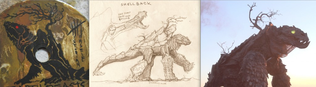 Shellback Earth Beast Design Progression